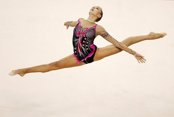 Пружинные движения в художественной гимнастике