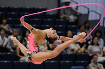 Махи и круги скакалкой в художественной гимнастике