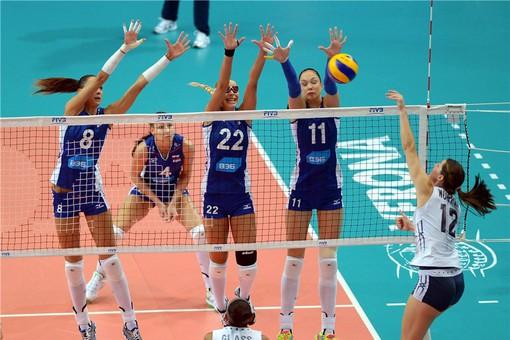 Блокирование в волейболе