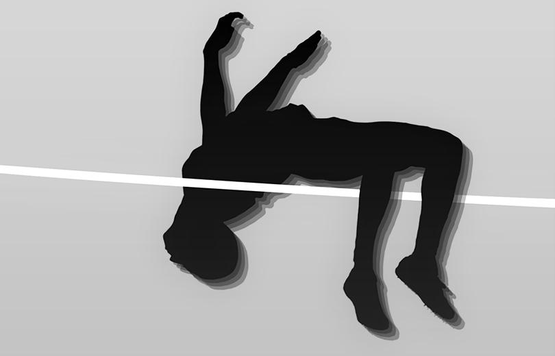 Прыжок фосбери-флоп. Техника прыжка в высоту способом фосбери-флоп