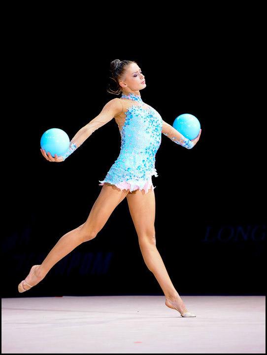 Беговые упражнения в художественной гимнастике