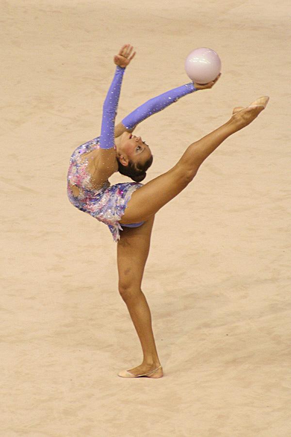 Маховые движения в художественной гимнастике