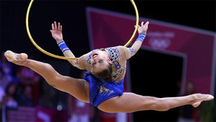Перекаты обруча в художественной гимнастике