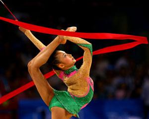 Змейки лентой в художественной гимнастике