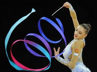 Спирали лентой в художественной гимнастике