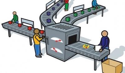 Формы труда, связанные с полуавтоматическим и автоматическим производством
